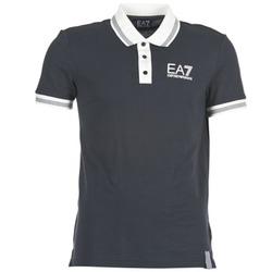 textil Herre Polo-t-shirts m. korte ærmer Emporio Armani EA7 OKOLAMI Marineblå