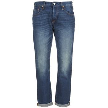 textil Dame Jeans - boyfriend Levi's 501 CT Roasted / Indigo
