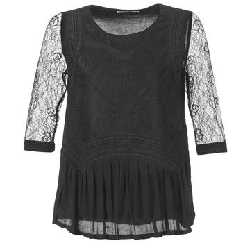 textil Dame Toppe / Bluser See U Soon SATURNIN Sort