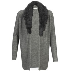 textil Dame Veste / Cardigans Naf Naf NESTOR Antracit