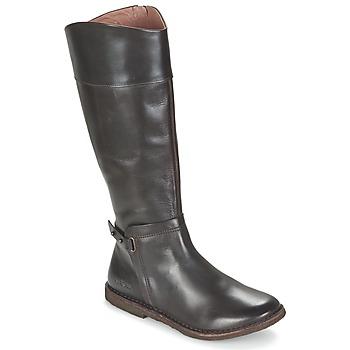 Sko Dame Chikke støvler Kickers CRICK Brun / Mørk