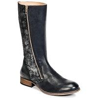 Sko Dame Chikke støvler Kickers PENNYHO Sort / Blank
