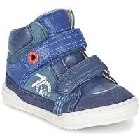 Sko Dreng Høje sneakers Kickers JINJINU Blå