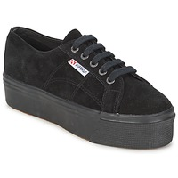 Sko Dame Lave sneakers Superga 2790 SUEW Sort