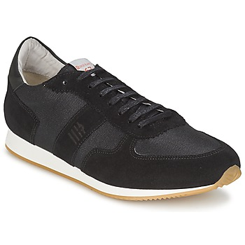 Sko Herre Lave sneakers Serge Blanco VARN Sort