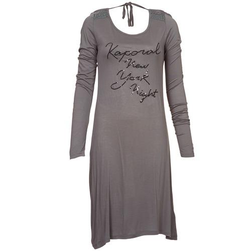 textil Dame Korte kjoler Kaporal TALET Grå