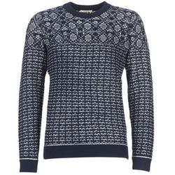 textil Herre Pullovere Selected RUPERT Marineblå