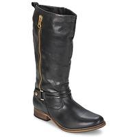 Sko Dame Chikke støvler Nome Footwear SASSIF CASU Sort