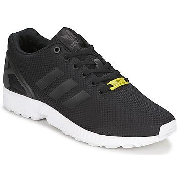 Sko Lave sneakers adidas Originals ZX FLUX Sort / Hvid