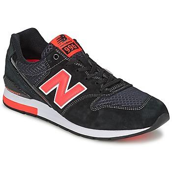 Sko Lave sneakers New Balance MRL996 Sort / Rød