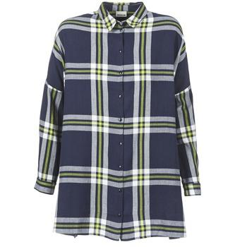 textil Dame Skjorter / Skjortebluser Noisy May ERIK Marineblå