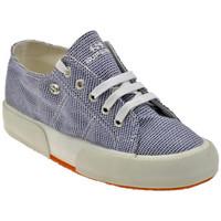 Sko Dame Lave sneakers Superga  Blå