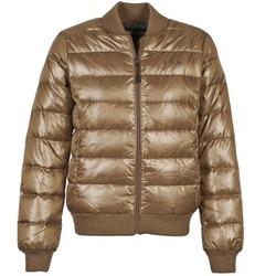 textil Dame Dynejakker Franklin & Marshall JKWAL511 Brun
