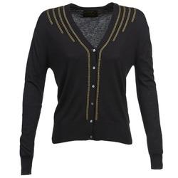 textil Dame Veste / Cardigans Chipie BERENICE Sort
