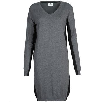 textil Dame Korte kjoler Chipie MONNA Grå / Sort