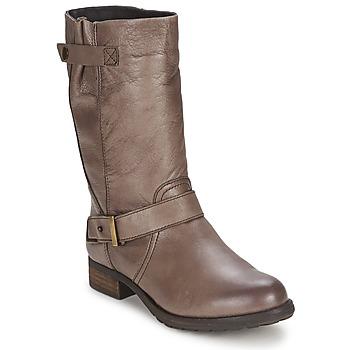 Sko Dame Chikke støvler Gioseppo FREIRE Muldvarpegrå