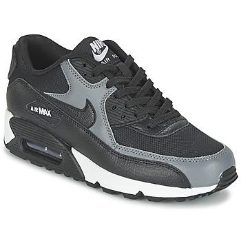 Sko Dame Lave sneakers Nike AIR MAX 90 W Sort / Grå