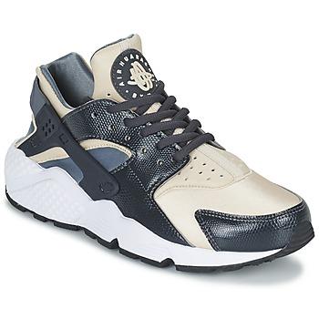 Sko Dame Lave sneakers Nike AIR HUARACHE RUN W Grå / BEIGE