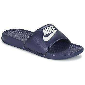 Sko Herre badesandaler Nike BENASSI JDI Blå / Hvid