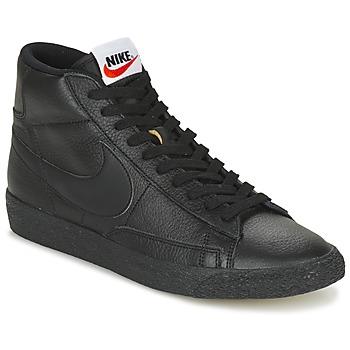 Sko Herre Høje sneakers Nike BLAZER MID Sort