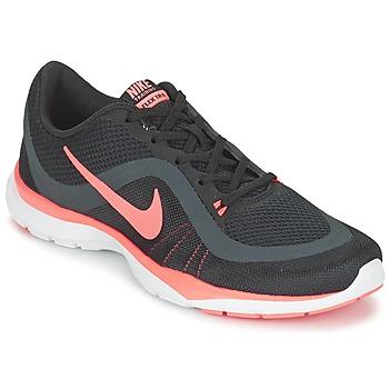 Sko Dame Fitness / Trainer Nike FLEX TRAINER 6 W Sort / Pink