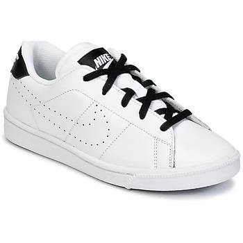 Sko Dreng Lave sneakers Nike TENNIS CLASSIC PREMIUM PRESCHOOL Hvid / Sort