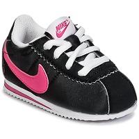 Sko Pige Lave sneakers Nike CORTEZ NYLON TODDLER Sort / Pink