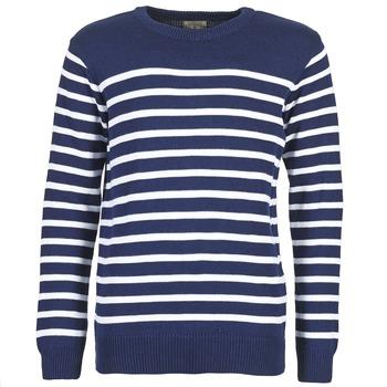 textil Herre Pullovere Casual Attitude FARCIELLE Marineblå / Hvid