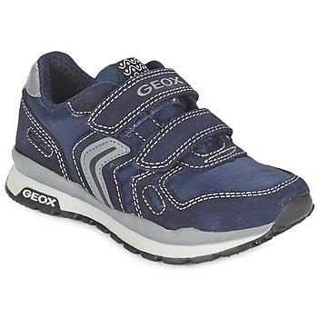 Sko Pige Lave sneakers Geox J PAVEL Blå