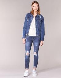 textil Dame Smalle jeans Yurban IFOUNOLE Blå / Medium