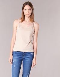 textil Dame Toppe / T-shirts uden ærmer BOTD FAGALOTTE Beige