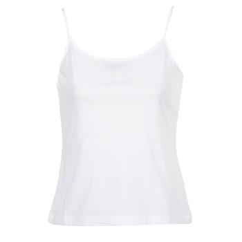 textil Dame Toppe / T-shirts uden ærmer BOTD FAGALOTTE Hvid