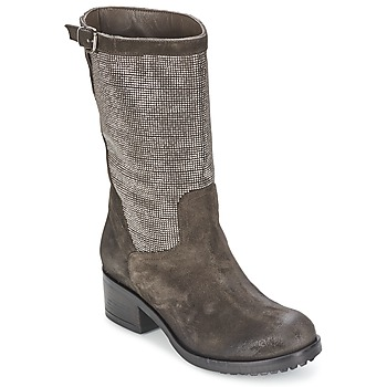 Sko Dame Chikke støvler Now DOUREL Grå
