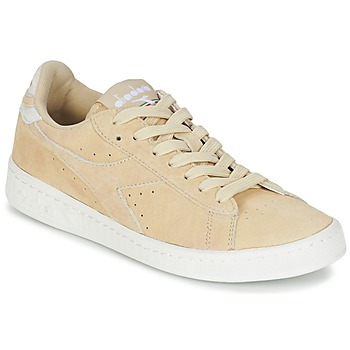 Sko Dame Lave sneakers Diadora GAME LOW SUEDE Beige