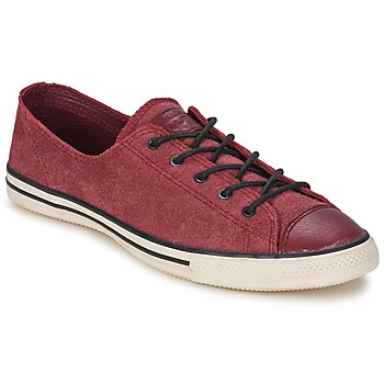 Sko Dame Lave sneakers Converse Chuck Taylor All Star FANCY LEATHER OX BORDEAUX