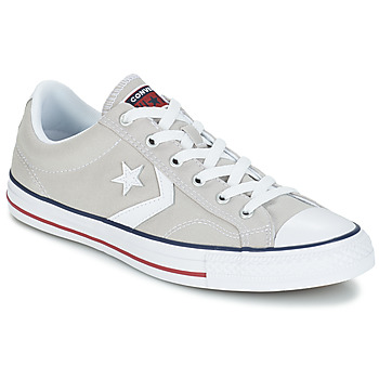 Sko Lave sneakers Converse STAR PLAYER CORE CANVAS OX Grå / Lys / Hvid