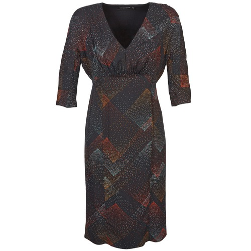 textil Dame Korte kjoler Antik Batik ORION Sort