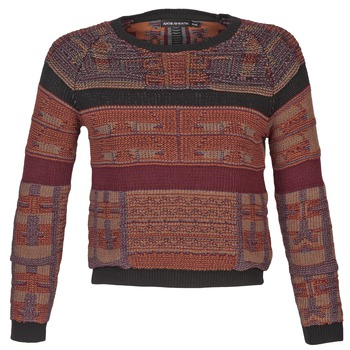 textil Dame Pullovere Antik Batik AMIE Rustrød