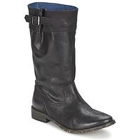 Sko Dame Chikke støvler Schmoove SANDINISTA BOOTS Sort / Metal