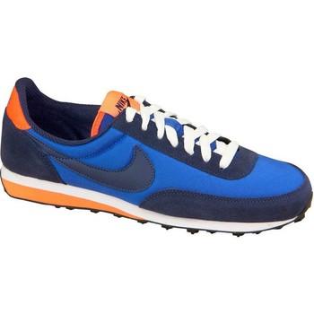 Sko Dreng Lave sneakers Nike Elite GS Blå,Flåde