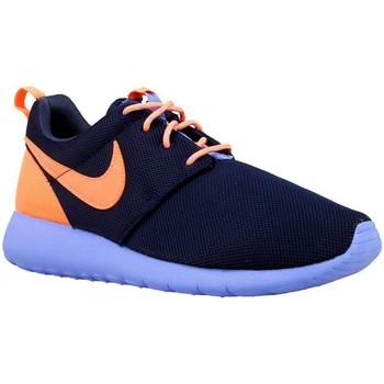 Sko Dreng Lave sneakers Nike Roshe One GS Orange, Flåde