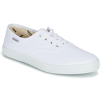 Sko Lave sneakers Victoria INGLESA LONA Hvid