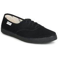 Sko Lave sneakers Victoria INGLESA LONA PISO Sort
