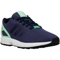 Sko Dame Lave sneakers adidas Originals ZX Flux W Light Flash Green Flåde, Celadon