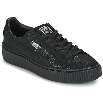 Sko Dame Lave sneakers Puma PUMA PLATFORM RESET WN'S Sort