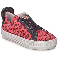 Sko Pige Lave sneakers Diesel JAKID Pink / Leopard