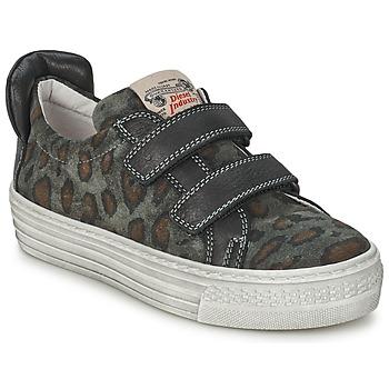 Sko Børn Lave sneakers Diesel JERMAN Grå / Leopard