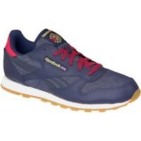 Sko Dame Sneakers Reebok Sport Classic Leather DG AR2042 Blue