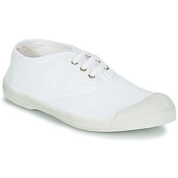 Sko Børn Lave sneakers Bensimon TENNIS LACET Hvid