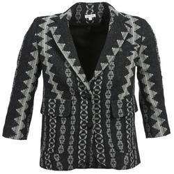 textil Dame Jakker / Blazere Manoush TAILLEUR Grå / Sort